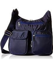 SUVELLÉ womens BA10 Crossbody Bag for Women Carryall Anti Theft Rfid Pockets Nylon Lightweight Shoulder Bag Travel Purse