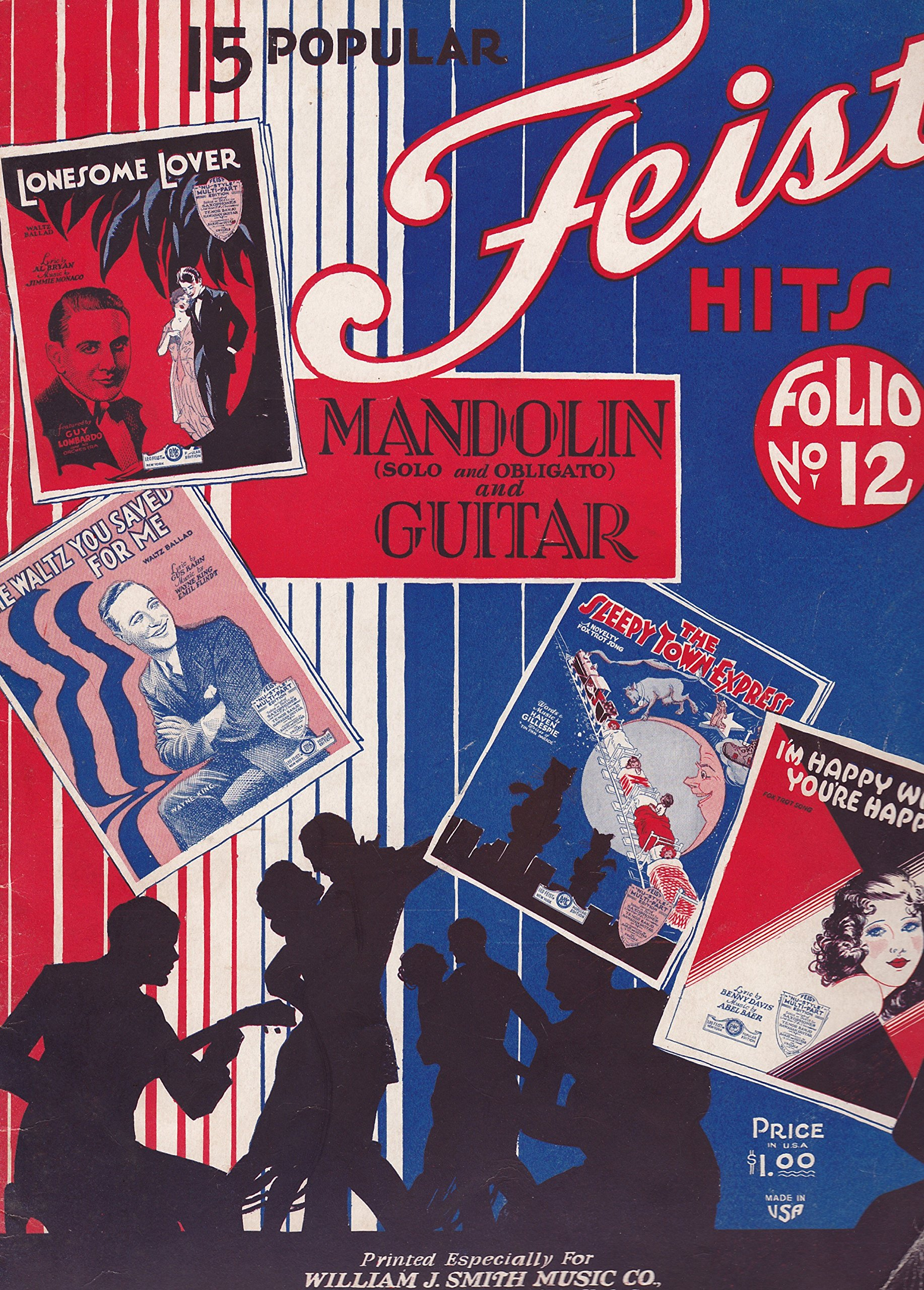 15 Popular Feist Hits [Mandolin and Guitar]
