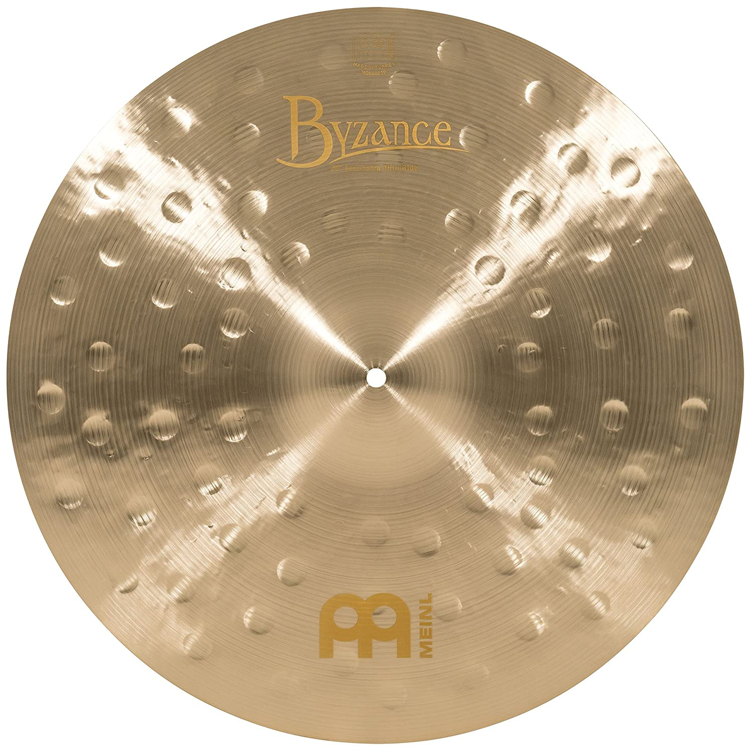 Meinl Cymbals B20JETR Byzance 20-Inch Jazz Extra Thin Ride Cymbal (VIDEO) Meinl USA L.C.