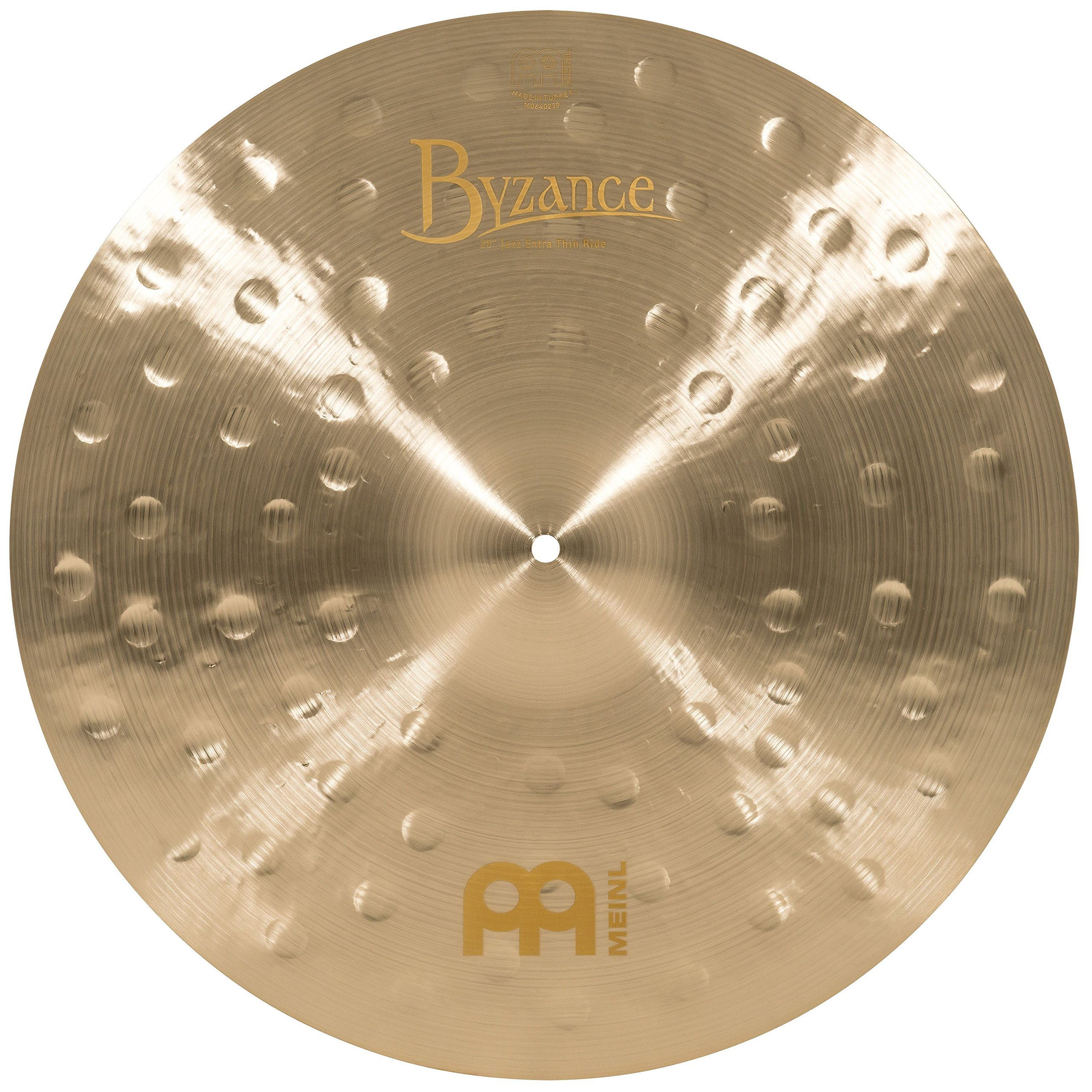 Meinl Cymbals B20JETR Byzance 20-Inch Jazz Extra Thin Ride Cymbal (VIDEO) by Meinl Cymbals