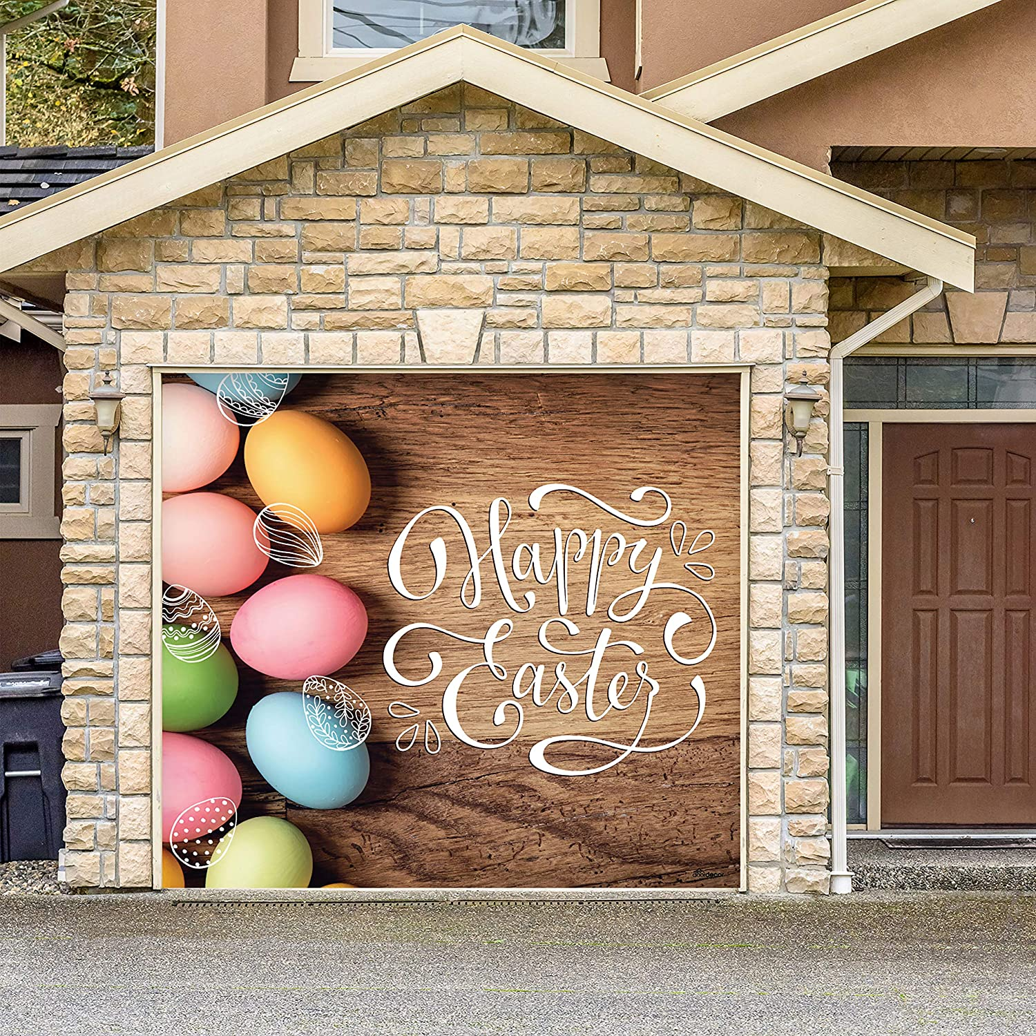 Amazon.com: Victory Corps Happy Easter Eggs - Holiday Garage Door