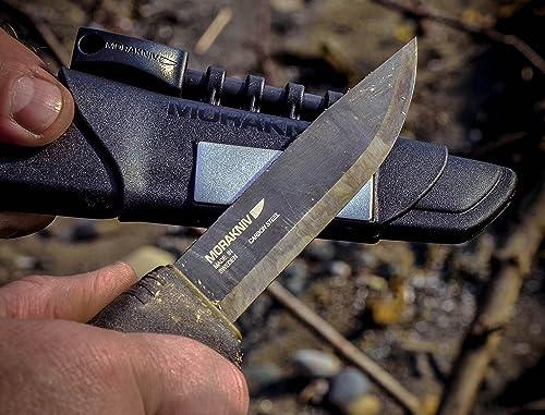 Morakniv Bushcraft Carbon Steel Survival Knife Review