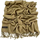 100% Cashmere Shawl Pashmina Scarf Wrap Stole Head Wrap Face Cover Hand Made in Nepal CJ Apparel NEW