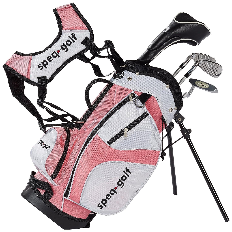 SPEQ - Medio Juego de Palos de Golf para niños (con Bolsa ...