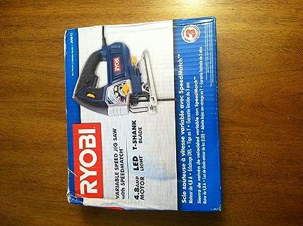 Ryobi 48 amp variable speed jigsaw power jig saws amazon ryobi 48 amp variable speed jigsaw greentooth Gallery