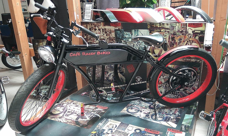 CAFE RACER - Bicicleta electrica - Hand Made e-Bike - Edicion Especial Coleccionista - Fabricada a mano - Modelos Unicos - Ofrecemos e-bike a medida con las ...