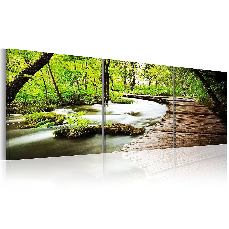 Amazon.de: murando - Bilder 150x50 cm - Leinwandbilder - Fertig ...