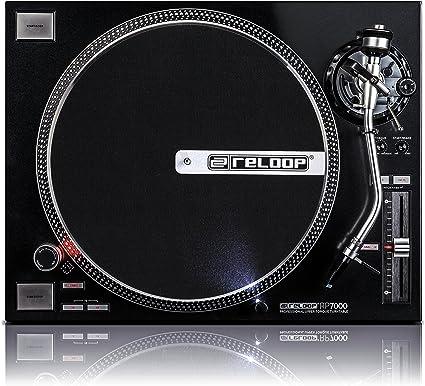 Amazon.com: Reloop rp-7000 cuarzo Driven DJ Tocadiscos con ...