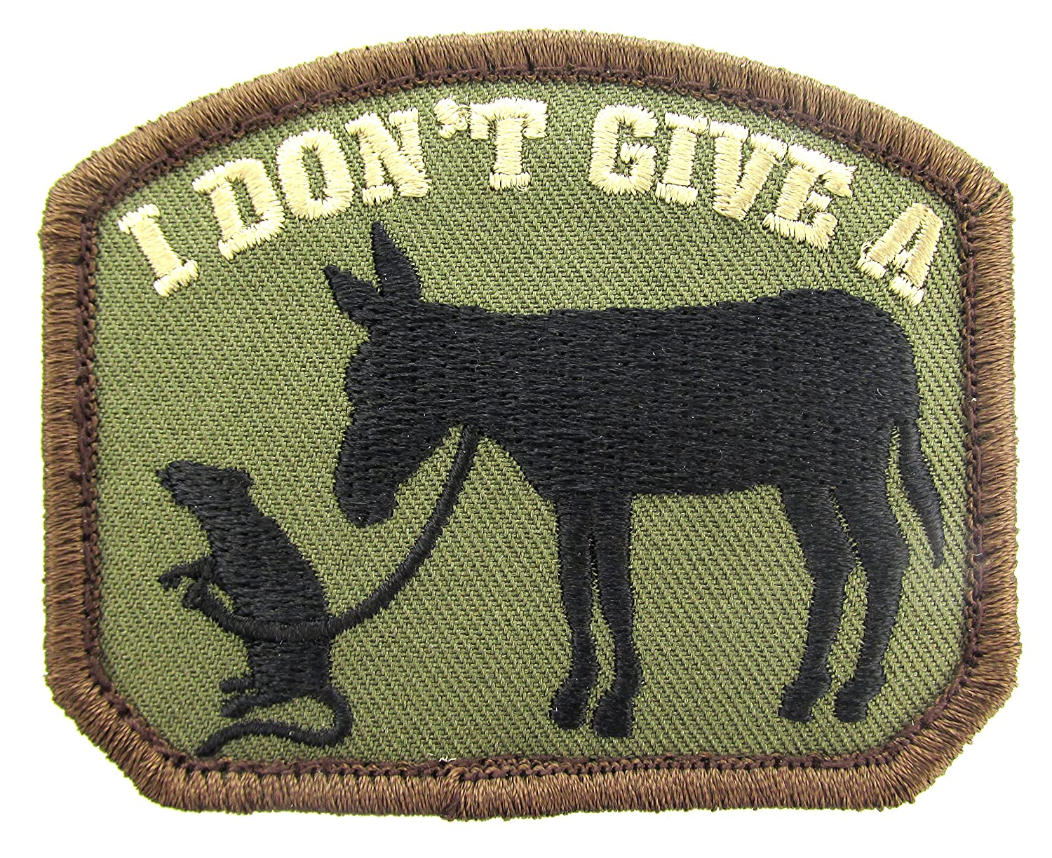 MIL-SPEC I Don't Give A Rat's Ass Patch Forest Mil-Spec Monkey
