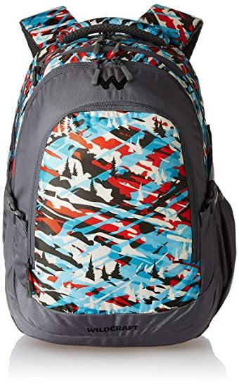 39efc1a7e6 Wildcraft 35 Liters Multi-Colour Casual Backpack (Camo 4 Turquoise ...