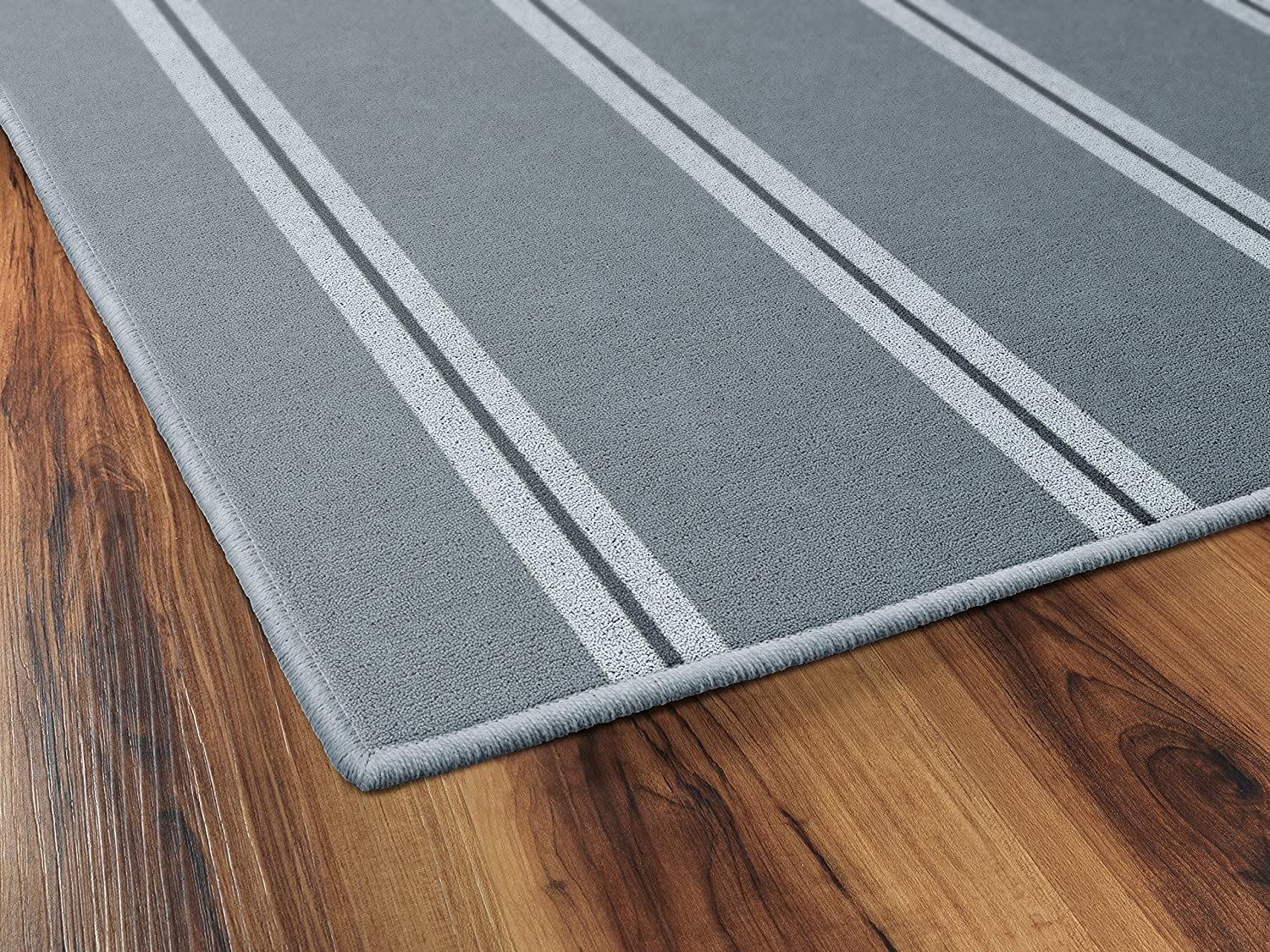 Brumlow Mills EW10190-30x46 Vertical Gray Traditional Striped Area Rug 26 x 310