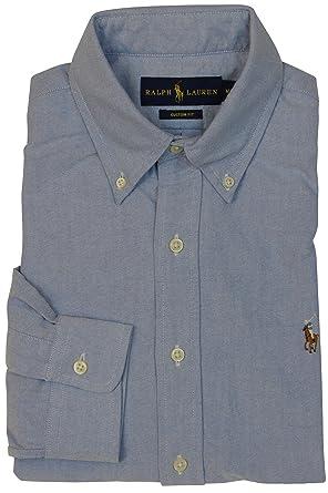 Polo Ralph Lauren Herren Klassische Passform Buttondown Oxford-Hemd   Amazon.de  Bekleidung 8ffcdc30ae