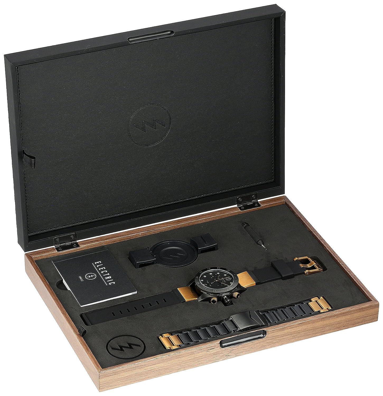 Amazon.com: Electric Unisex EW0040040006 DW01 SWISS Analog Display Swiss Quartz Two Tone Watch: Watches