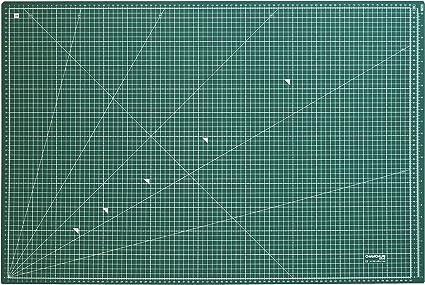 Base de corte/Tapete para cortar de A1 (90x60 cm) verde oscuro ...