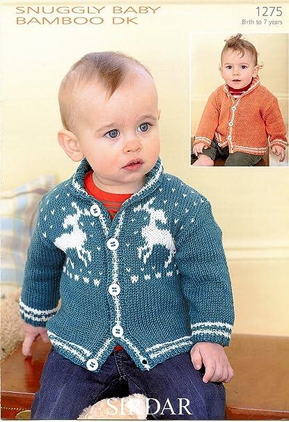 Amazon Cardigans In Snuggly Baby Bamboo Dk Sirdar Knitting
