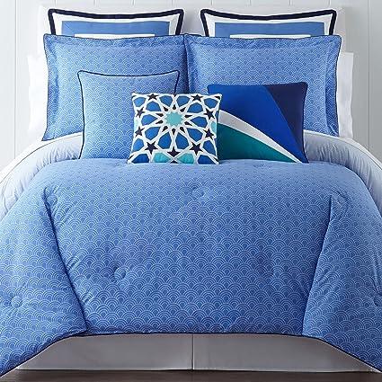 Happy Chic By Jonathan Adler Zoe 3 Pc Comforter Full/Queen