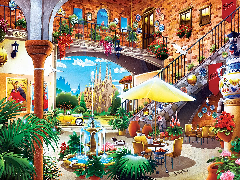 MasterPieces Travel Diary Barcelona 550Piece Jigsaw Puzzle