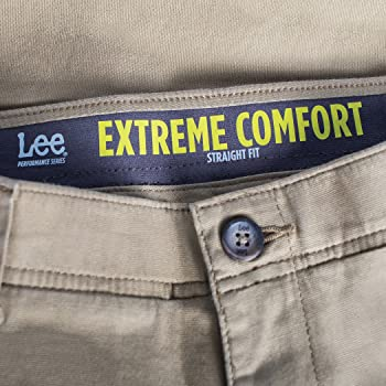 Lee Mens Big /& Tall Performance Series Extreme Comfort Pant Pants