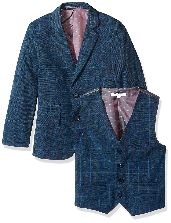 Isaac Mizrahi Boys 3-Piece Large Check Suit
