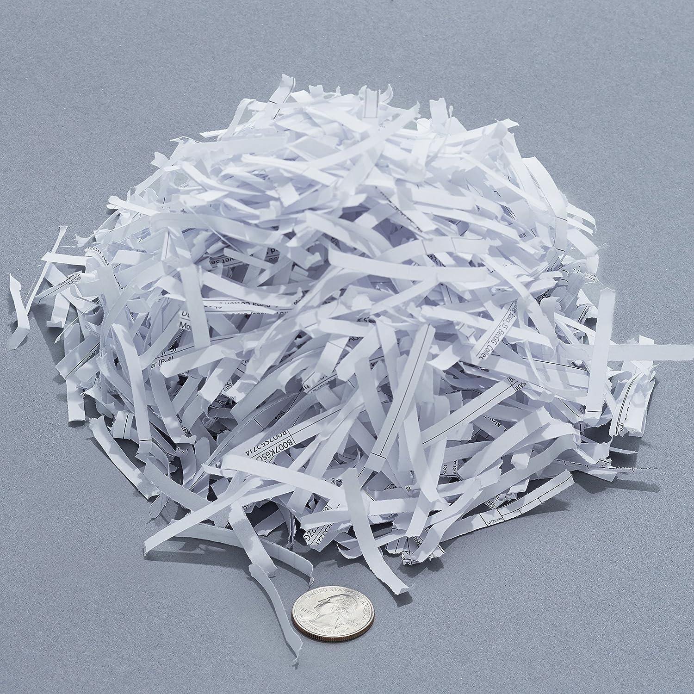 Bundle Pack of 24 Basics 24-Sheet Cross-Cut Paper Shredder with Pullout Basket and Shredder Sharpening /& Lubricant Sheets