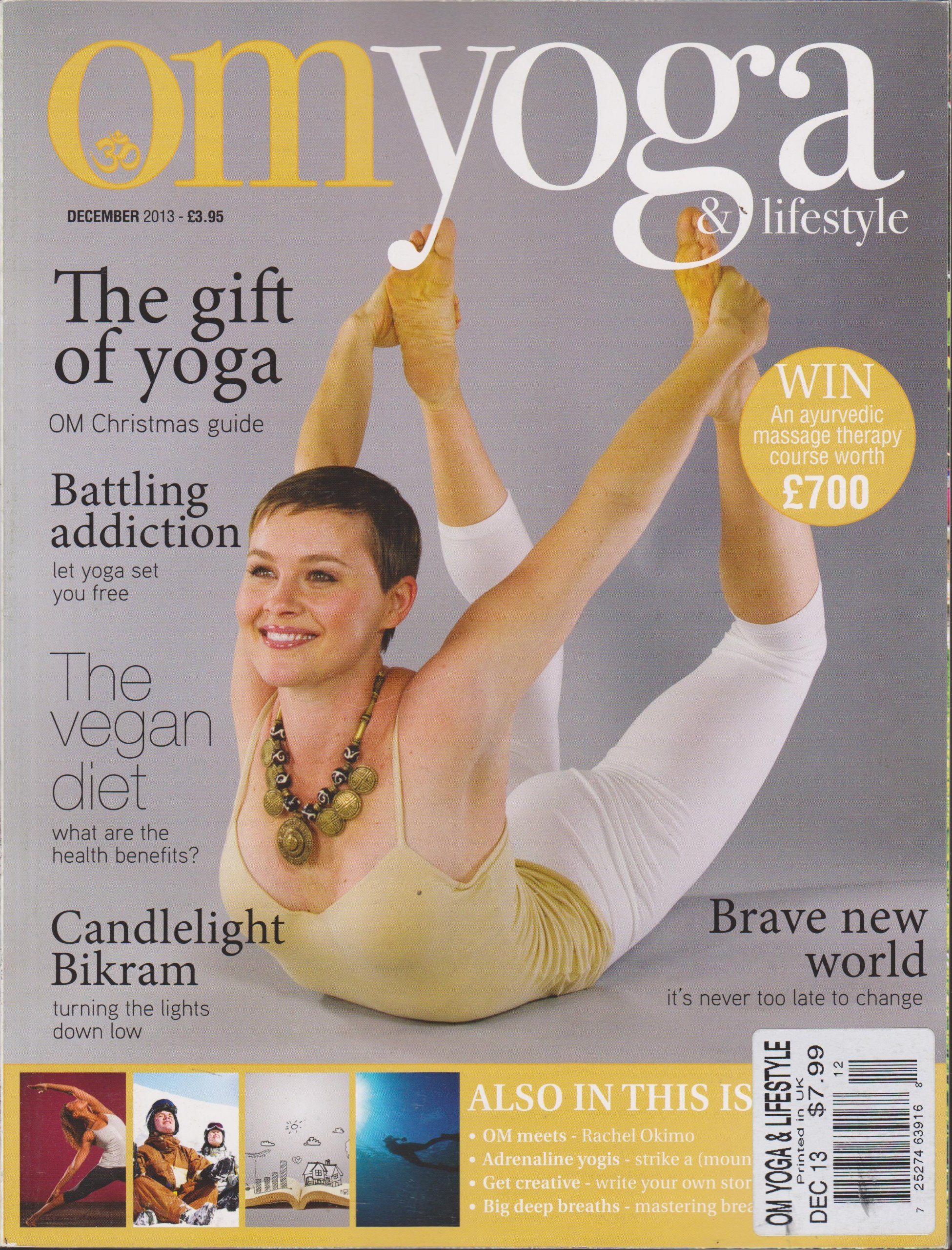 Om Yoga & Lifestyle Magazine December 2013 PDF