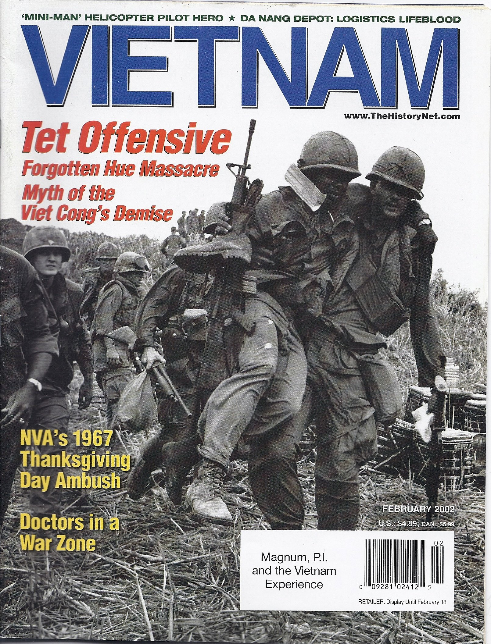 Download Vietnam Magazine (February 2002) pdf epub