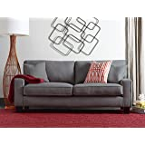 "Serta Deep Seating Palisades 73"" Sofa in Essex Gray"
