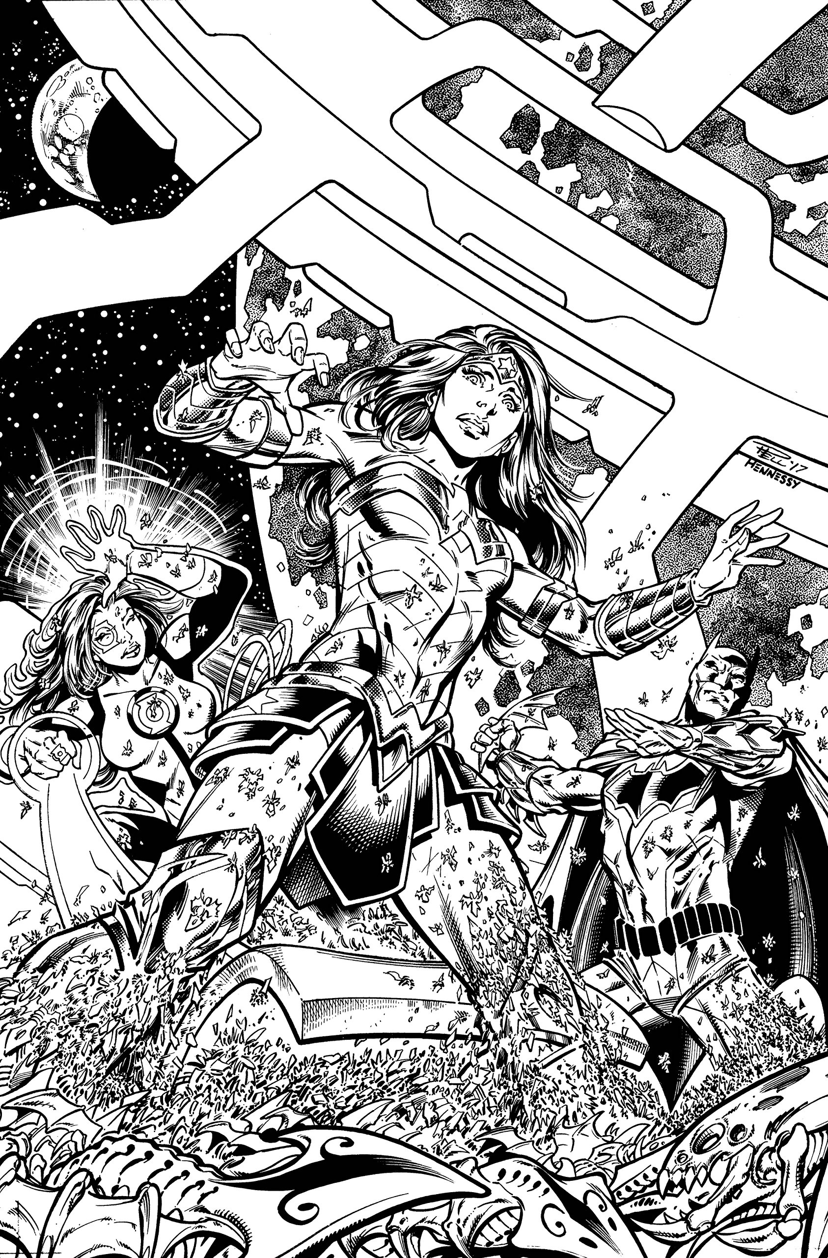 JUSTICE LEAGUE #22 (Reg Cvr, Likely In Color) pdf