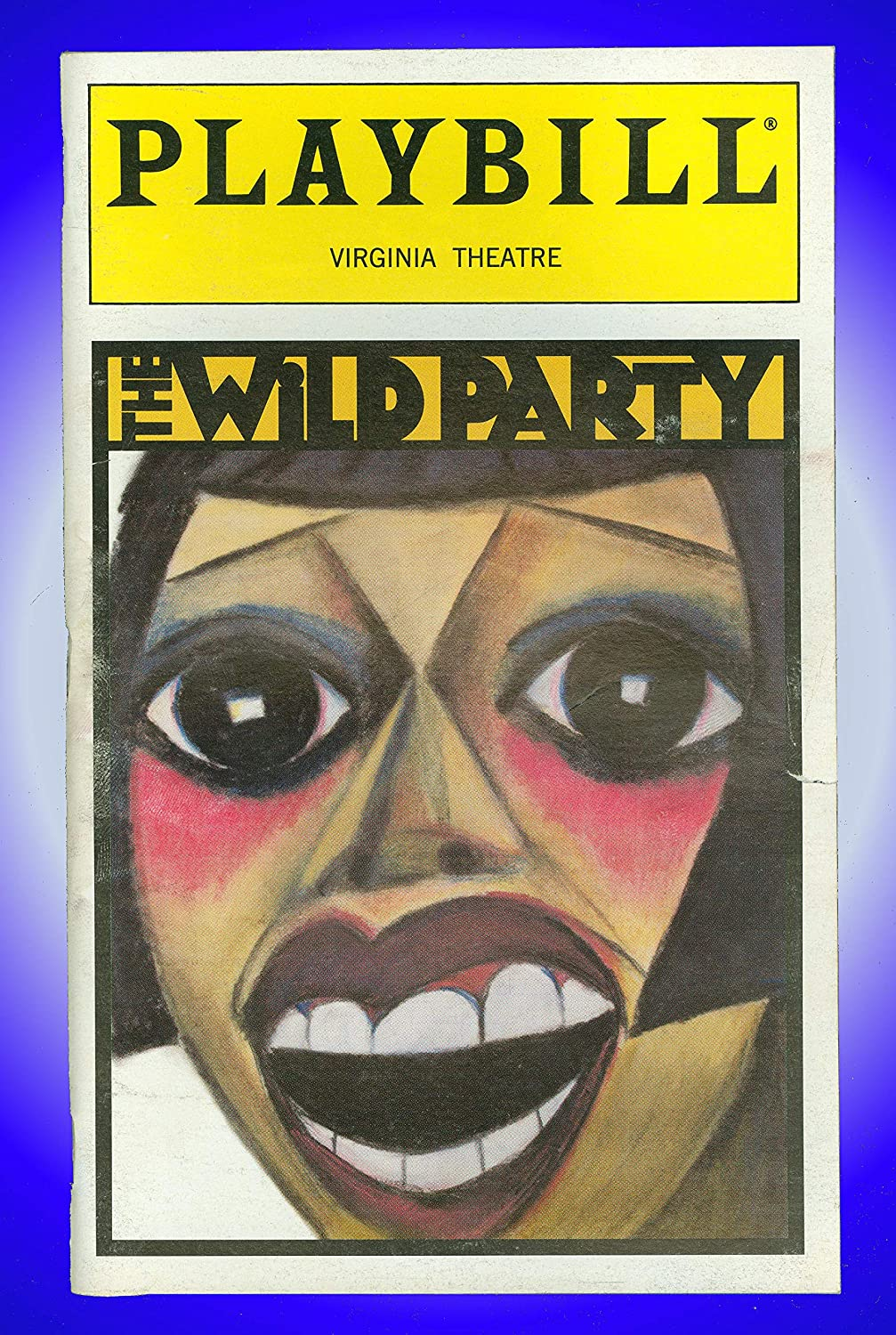 The Wild Party, Broadway Playbill + Toni Collette, Eartha Kitt, Norm Lewis, Mandy Patinkin, Marc Kudisch, Tonya Pinkins, Yancey Arias, Leah Hocking, Sally Murphy Sally Murphy Michael John LaChiusa