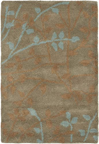 Safavieh Soho Collection SOH733D Handmade Light Brown and Multi Premium Wool Area Rug 2 x 3