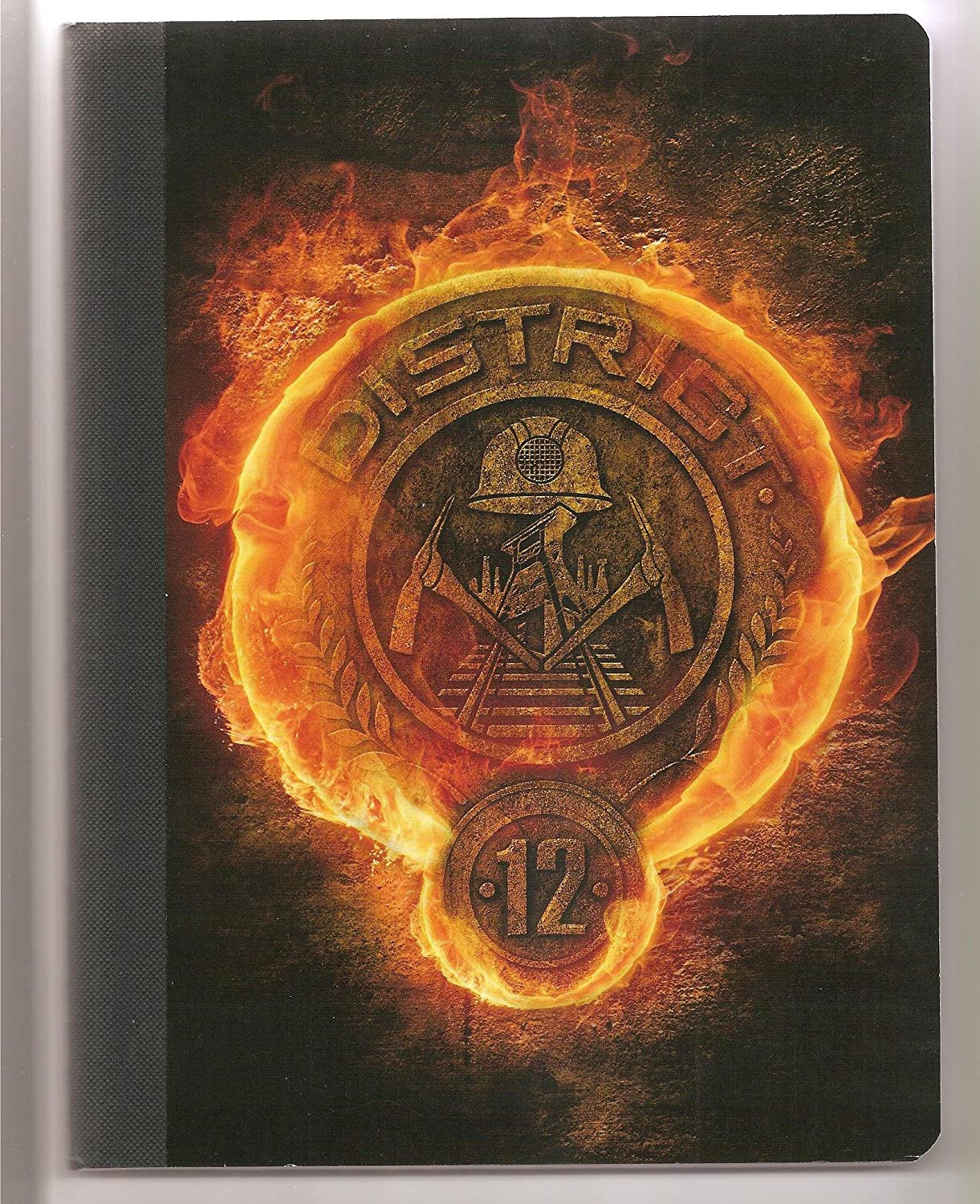 The Hunger Games NECA Movie Composition Book / Notebook 100 Sheet College Rule - District 12 Seal