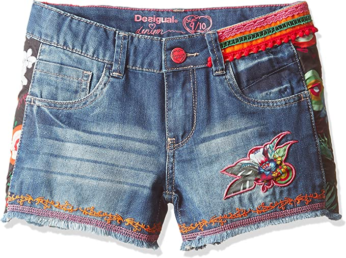 DESIGUAL - Short en denim pour fille fernan