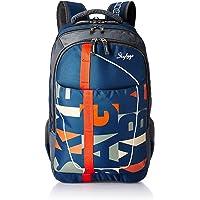 Skybags Geek 48 Ltrs Blue Laptop Backpack (GEEK02BLU)