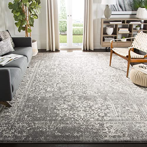 Safavieh Evoke Collection EVK256D Vintage Oriental Grey and Ivory Area Rug 10 x 14