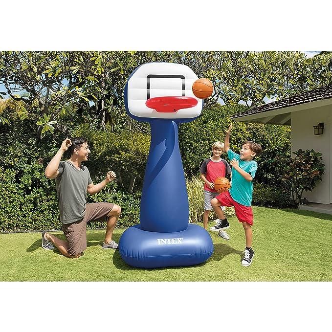 Amazon.com: Intex Shootin Hoops Set, inflable, Canasta de ...