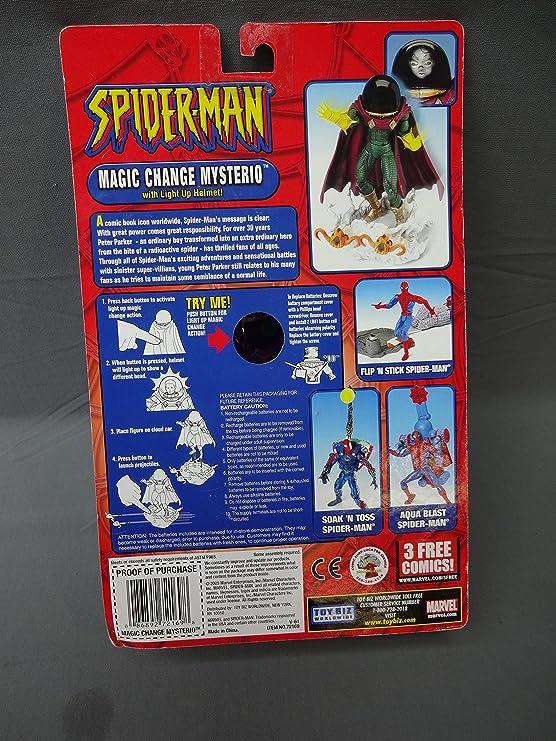 Spider-Man  Mysterio Action Figure Toy Biz 72169