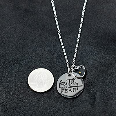 Mustard Seed /& Tree Of Life Necklace With Jewelry Bag /& Scripture Card Black