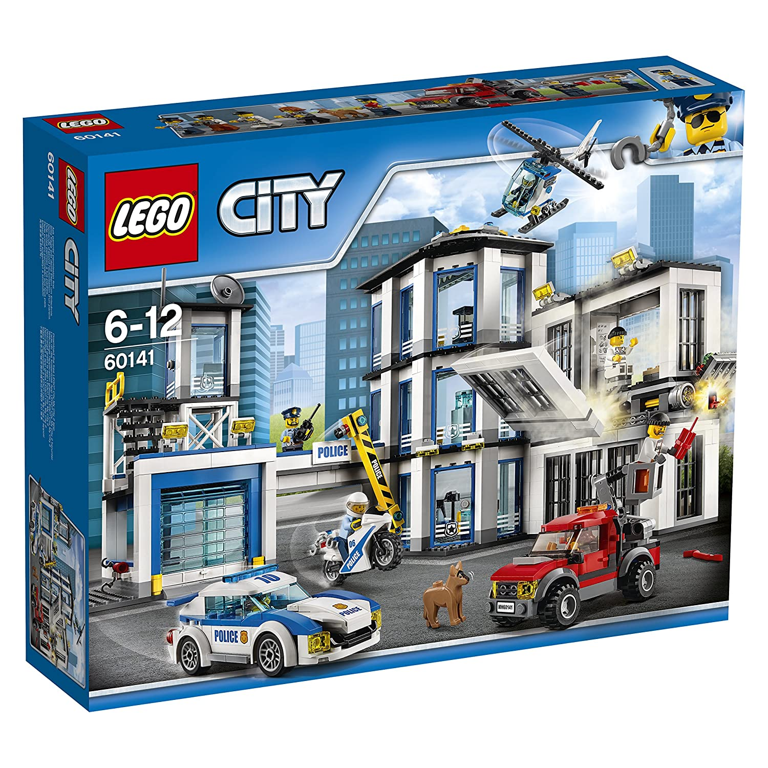 Lego - 60141 - City Police - Stazione di Polizia (Catalogo Lego 2017) per 89,99€ (invece di 99,99€) @amazon.it
