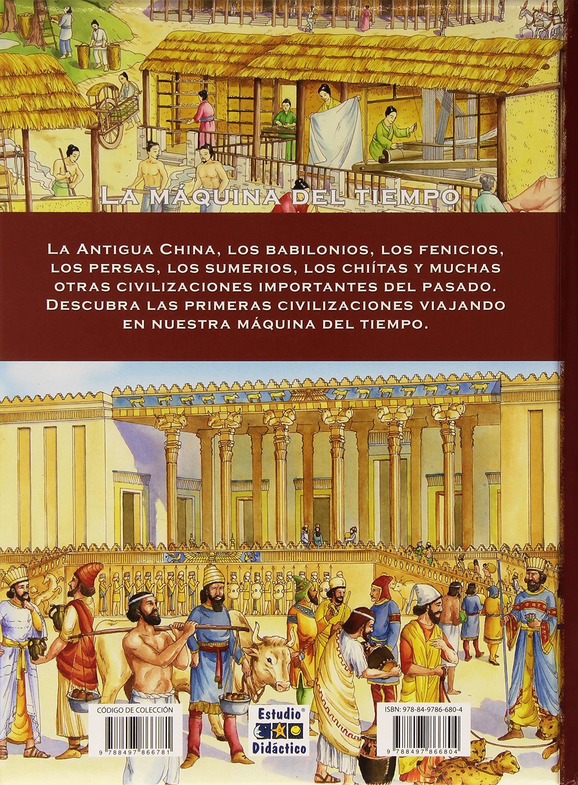 LA MAQUINA DEL TIEMPO: PRIMERAS CIVILIZACIONES: 2: Amazon.es: RENZO BARSOTTI: Libros en idiomas extranjeros