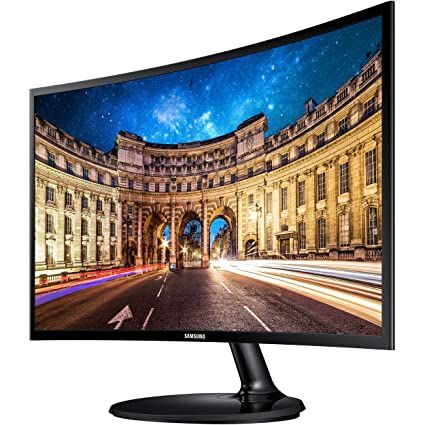 42cd0e7a74f Amazon.com: Samsung 27-Inch Curved Desktop Monitor for Business with 3-Year  Warranty (C27F390FHN): Computers & Accessories