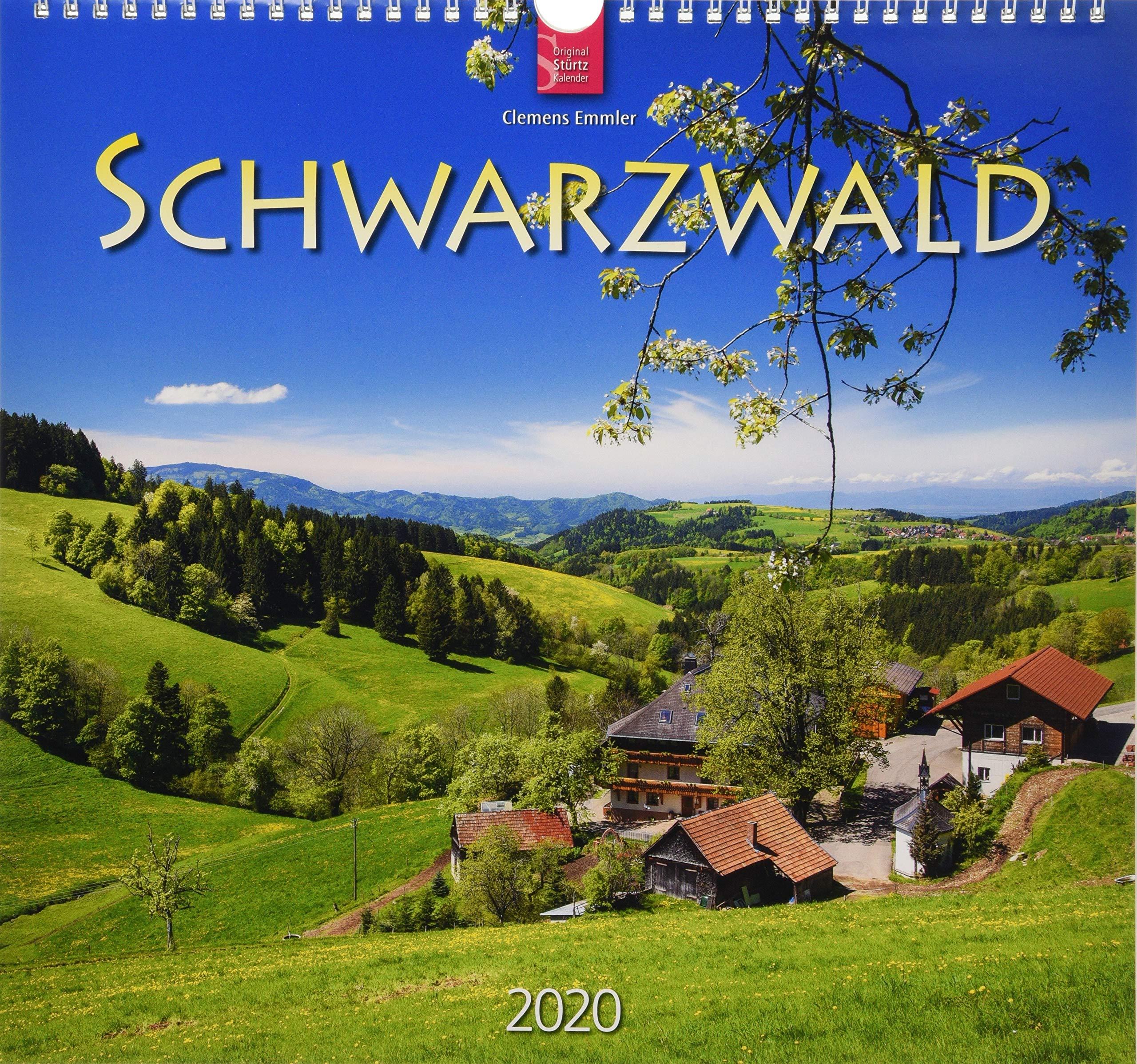 Schwarzwald  Original Stürtz Kalender 2020   Mittelformat Kalender 33 X 31 Cm