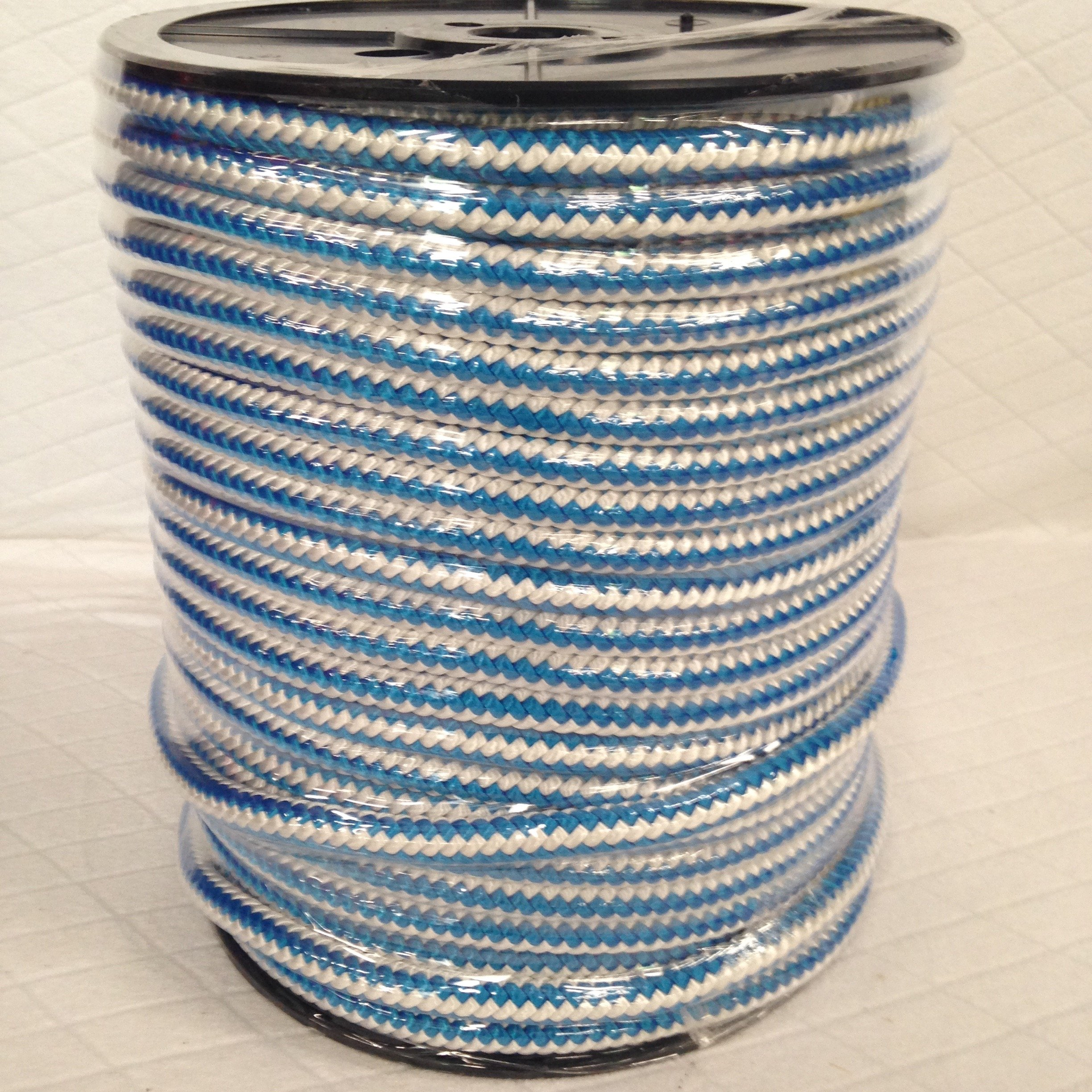 1/2'' By 300' 12-strand Polyester Arborist Climbing Blue Ox Rope