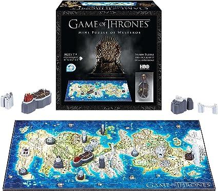 4D Cityscape- Juego de Tronos/Mini Westeros 3D Puzzle, Color, estándar (51001): Amazon.es: Juguetes y juegos