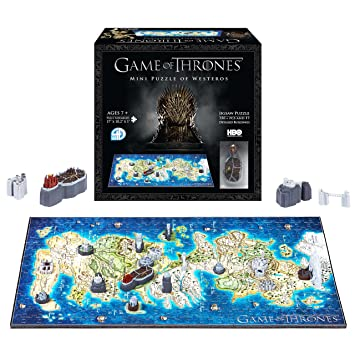4D Cityscape Mini Game of Thrones: Westeros Time Puzzle (350 Piece)