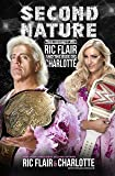 WWE Second Nature: Legacy of Ric Flair and Rise of Charlotte Flair Hardcover Book Blue