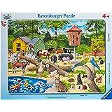 Ravensburger - 67770 - Puzzle - 30x48 Pièces cadre La ferme aux animaux