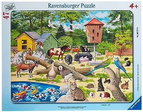Geduldspiel Puzzles & Geduldspiele Kleiner Flugplatz Puzzle mit 40 Teilen Rahmenpuzzle ab 4 Jahren Spiel Deutsch