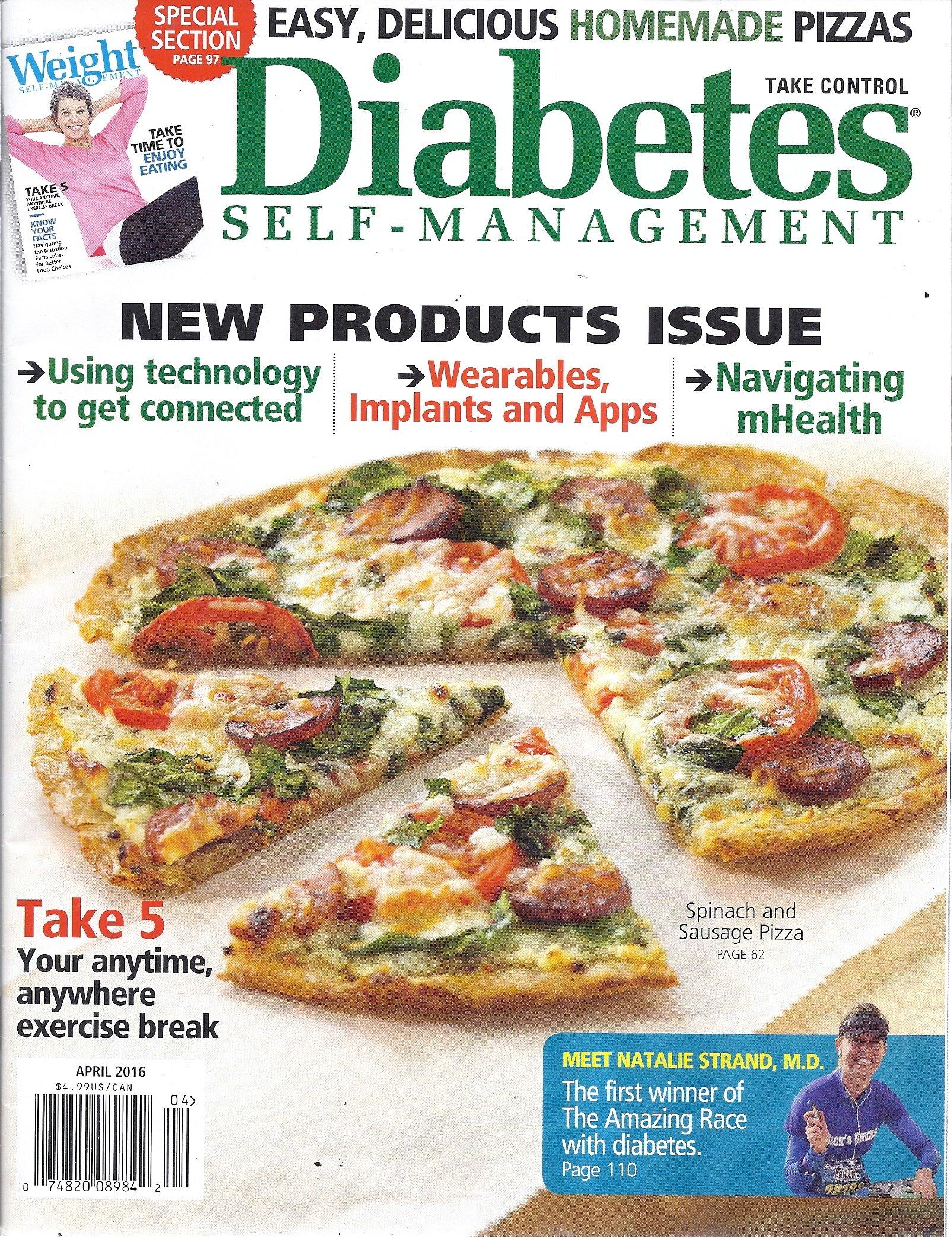 Diabetes Self-Management Magazine, March / April 2016 PDF