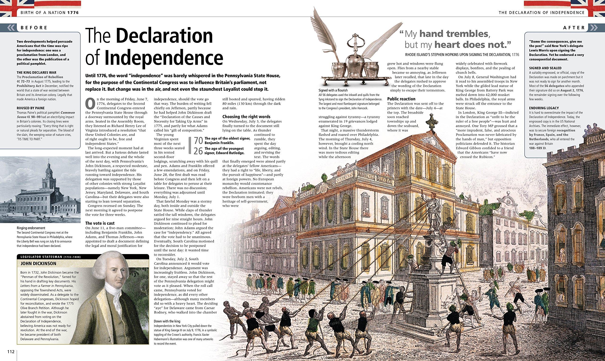 The American Revolution: A Visual History: DK: 9781465446077