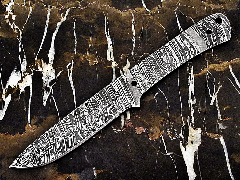 ColdLand 9.25 Custom Handmade Damascus Steel Blank Blade Knife Making Supplies SB87